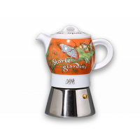 Ancap Carina Storie Di Giardini a-porter espresso kafijas vārītājs