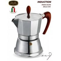 GAT Magnifica espresso kafijas vārītājs 3 tasītēm